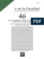 UP Escritos en La Facultad - Año 3 Nº 46