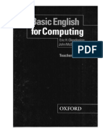 Basic English for Computing Teacher's Book - 100p