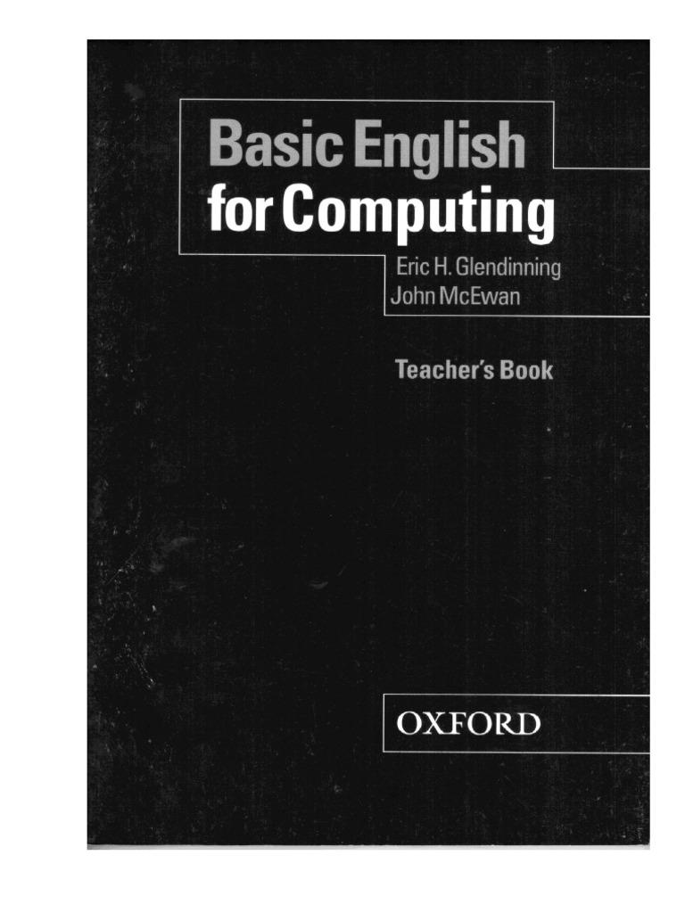 Basic english for computing teachers book 100p fandeluxe Choice Image