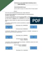 Elements de Correction Du Cc de Comptabilite Generale Seco 1-2021