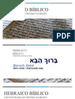 Apresentação Hebraico bíblico