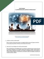 4. Tema - La Importancia del Contrato Internacional