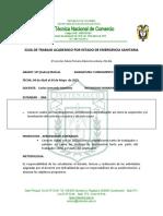 GUIA DE TRABAJO No. 2 FUNDAMENTO LEGAL 2021