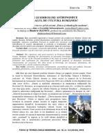 Semne și simboluri astronomice în arealul de cultură românesc