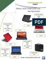 Catálogo Netbooks