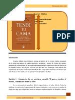 Resumen Libro Tiende Tu Cama (1)