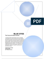 Blueeyes Full Report by Sud