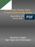 Digital Signs Marya Morris