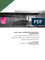 Artigo_lugas corpo e experiencia na arquitetura contemporânea