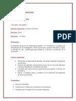 Planificacón de RECUSOS NATURALES  2.018.