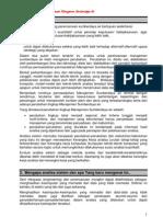 Analisa Sistem Dalam Perencanaan Manajemen Sumberdaya Air