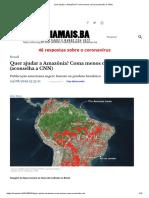Quer Ajudar a Amazônia_ Coma Menos Carne (Aconselha a CNN)