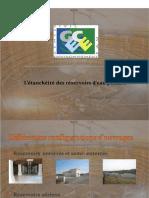 PDF 03 Etancheite Reservoirs Deau Potable PDF Compress