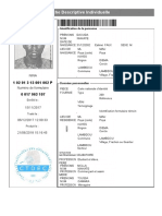 Fiche Individuelle Daouda Niakate