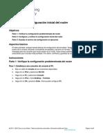 Configuración Inicial Del Router