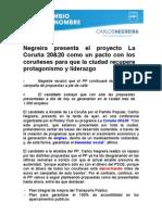 Nota Carlos Negreira Confer en CIA Rotary - Lunes 4 Abril