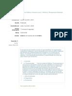 Políticas Públicas e Governo Local - Exercício Avaliativo 2