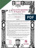 EL SUDARIO - IX CONCURS ESCAPARAT 2011