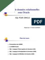 01 SQL POUR ORACLE