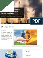 Mudanças climáticas e aquecimento global