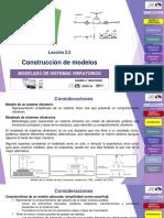 Lección 2.2 Construcción de Modelos