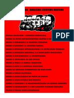 Plano de Estudo - Marxismo-Leninismo-Maoismo (1)