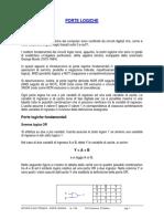 1-PORTE LOGICHE-CIRCUITI DIGITALI
