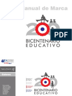 MANUAL Logo Oficial Bicentenatio Educativo
