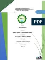 Biotecnología Ambiental - Sinopsis Cronológica
