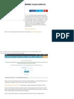 Como excluir perfil e deletar a sua conta no POF _ Dicas e Tutoriais _ TechT