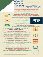 Principios Pedagógicos 2011 - 2016