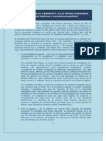 Carta Abierta a Julio Rosas-Evangelico x Fuerza2011[1]