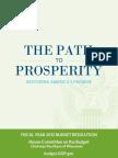 Paul Ryan budget proposal