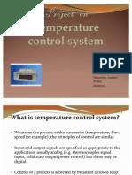 temperature control system...himanshu ramdeo
