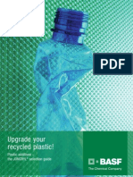 Upgrade your recycled plastic Joncryl