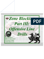 Zone Blocking Part III - Drills