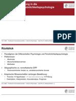 Session 3 - Psychoanalyse - Psychodynamik