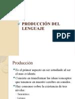 Tema 2. Producción del lenguaje