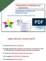 Maintenance Professionnel Fiabilisation Des Équipements