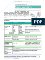 Solutions Dialyse