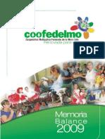 Memoria COOFEDELMO 2009