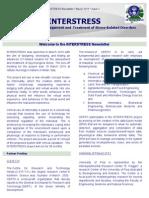 2nd Inter Stress Newsletter 31.03