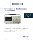Introduction to Oscilloscopes