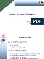 Reformas en Educación Básica (Sylvia Schmelkes)