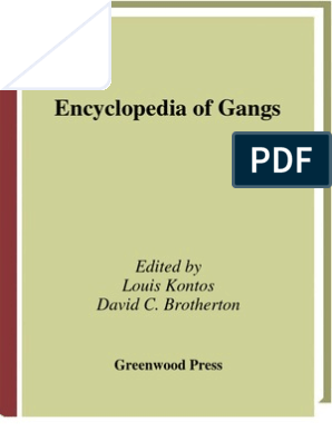 3812944-Encyclopedia-of-Gangs | Gang | Organized Crime