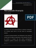 Neo-pseudo-Anarquía