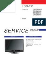 SERVICE MANUAL LN-S4692D LNS4692D CHASSIS GM046KU