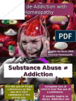 Drug de-addiction