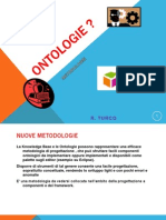 Knowledge Base & Ontologie - Nuove metodologie a componenti e framework