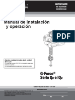 WORKTECH_GORBEL GFORCE IQ2_Manual de Instalacion y Operacion